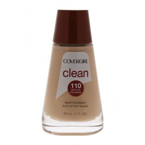 CoverGirl Clean Liquid Foundation  - 110 Classic Ivory for Women, 1 oz