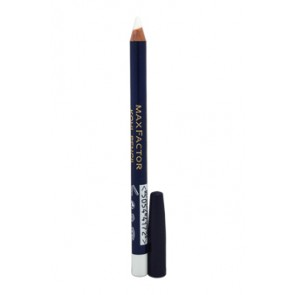Max Factor Kohl Pencil Eyeliner - 010 White for Women, 0.1 oz