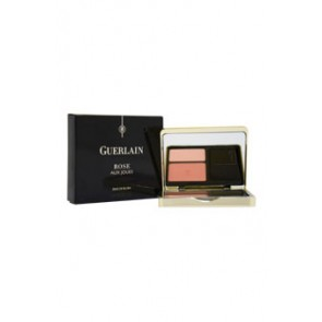 Guerlain Rose Aux Joues Blush Duo  - 02 Chich Pink for Women, 0.21 oz