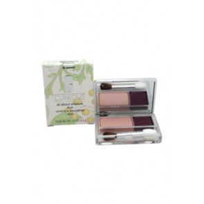 Clinique All About Eye Shadow Duo  - 20 Jammin for Women, 0.07 oz