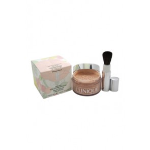Clinique Blended Face Powder and Brush Powder  - 04 Transparency for Women, 1.2 oz