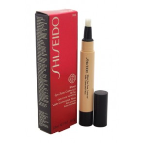 Shiseido Sheer Eye Zone Corrector - 104 Natural Ochre for Women, 0.14 oz