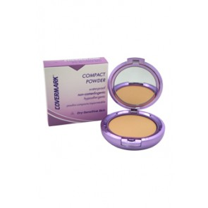 Covermark Compact Powder Waterproof Dry Sensitive Skin  - 1A for Women, 0.35 oz