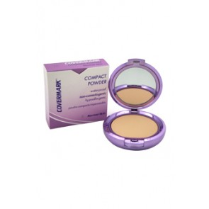 Covermark Compact Powder Waterproof Normal Skin  - 1 for Women, 0.35 oz