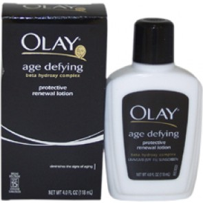 Olay Age Defying Protective Renewal Lotion for Women, 4 oz